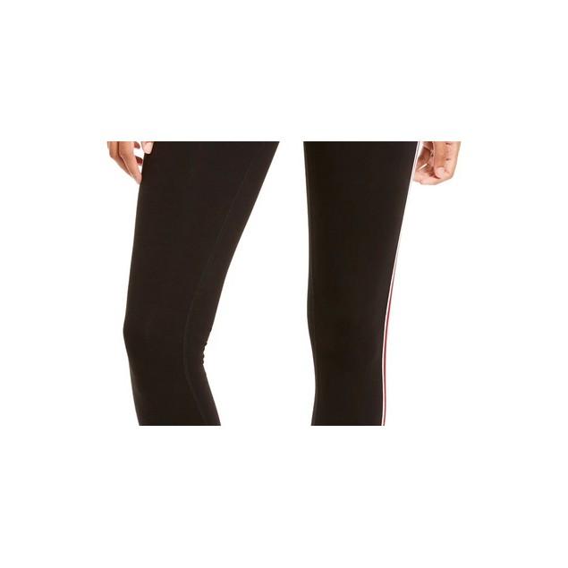 Ideology Women's Varsity Stripe Leggings Black Size X-Small
