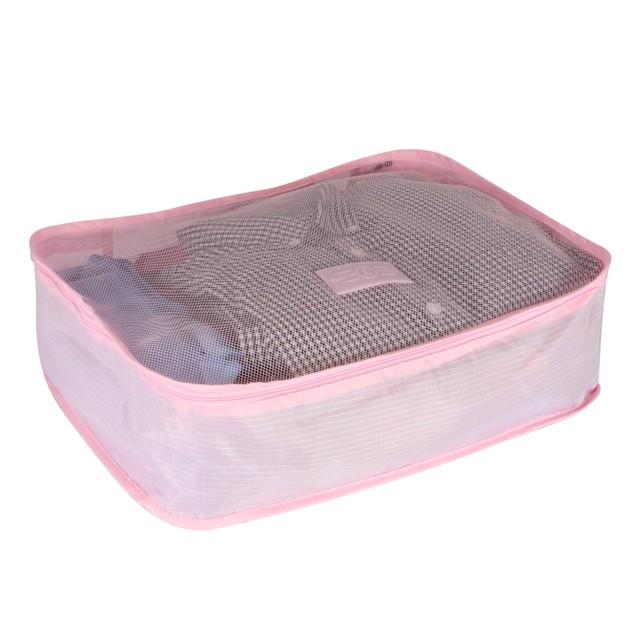 Suitcase Luggage Packing Cubes | Pukkr Pink