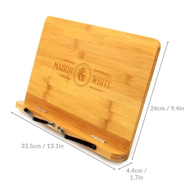 Bamboo Book Stand | MandW