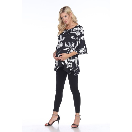 Maternity Plus Size Roche Tunic Top