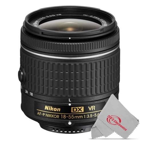 Nikon 18-55mm f/3.5 - 5.6G VR AF-P DX Nikkor Lens