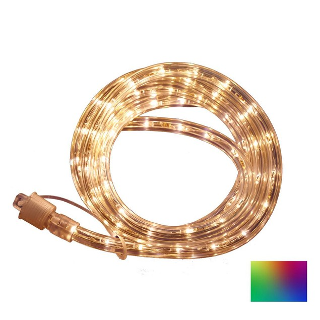 Commercial Electric Outdoor/Indoor 16 ft. Flexible LED Rope Light,