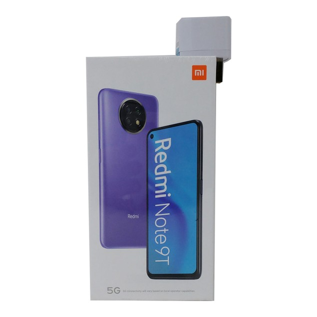 Xiaomi Redmi Note 9T 5G 128GB GSM Factory Unlocked 4GB RAM Smartphone Black