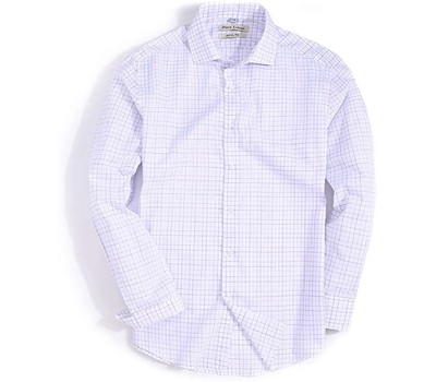 Mens Slim-Fit Casual Plaid Button Down Shirt ( Perfect For Everyday ) Was: $79.99 Now: $13.99.
