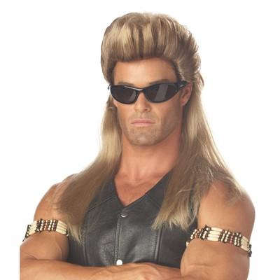 Bounty Hunter Mullet Wig