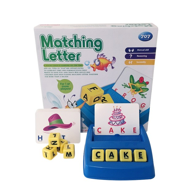 Matching Letter Spelling Game