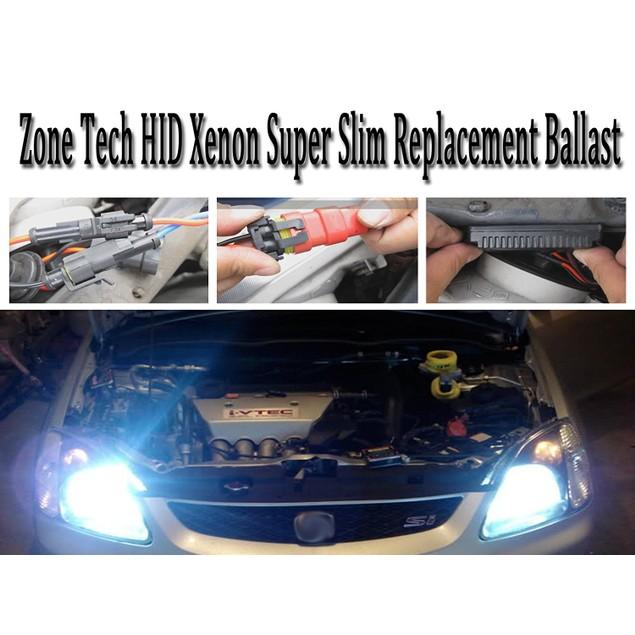 """Zone Tech HID Xenon Super Slim Replacement Ballast 1/2"""" 35 Watt"""