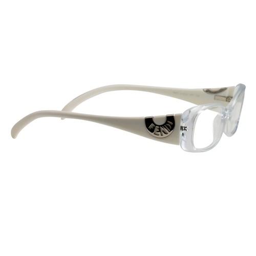 Fendi Women's Eyeglasses Frames FF 847 971 Crystal/White 51 16 135 Full Rim