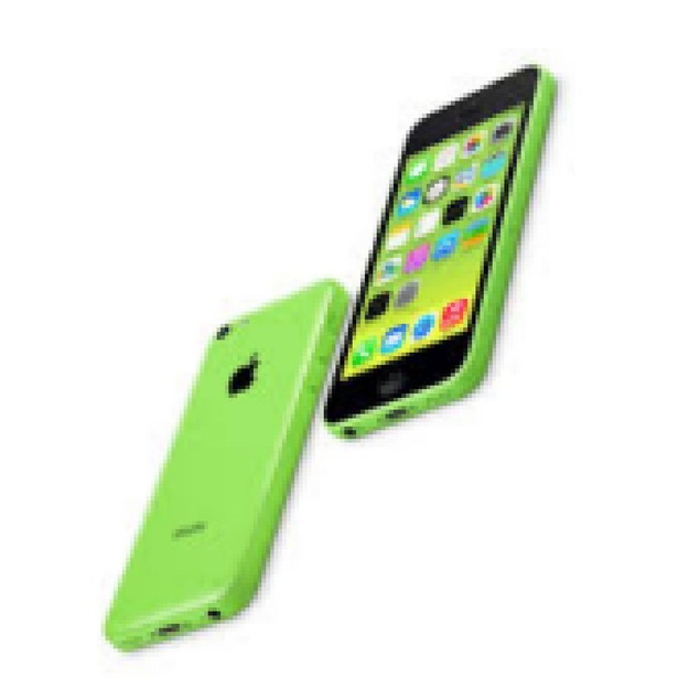 Apple iPhone 5c, AT&T, Grade B-, Green, 16 GB, 4 in Screen