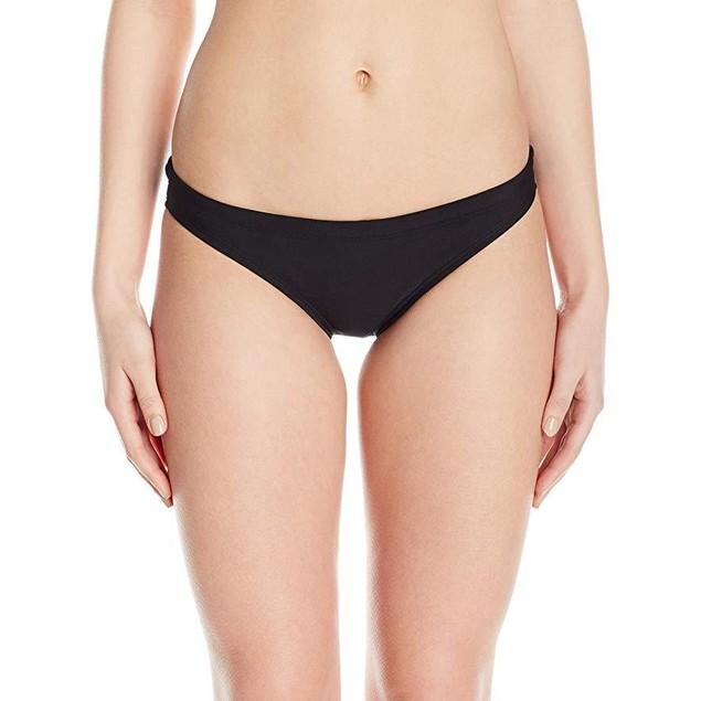 Speedo Women's Endurance Lite Solid Bikini Bottom, Speedo Black, Size