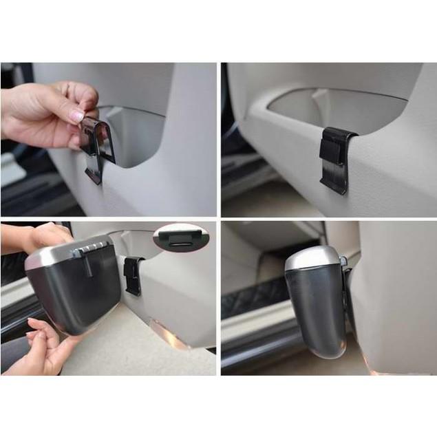 Mini Auto Car vehicle Trash Rubbish Can Garbage Dust Case Holder Box