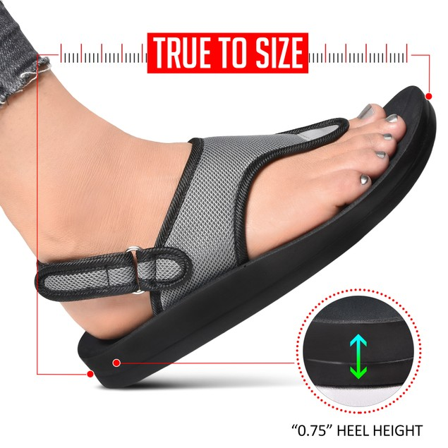 AEROTHOTIC Women's Coral Arch Support Back Strap Sandals