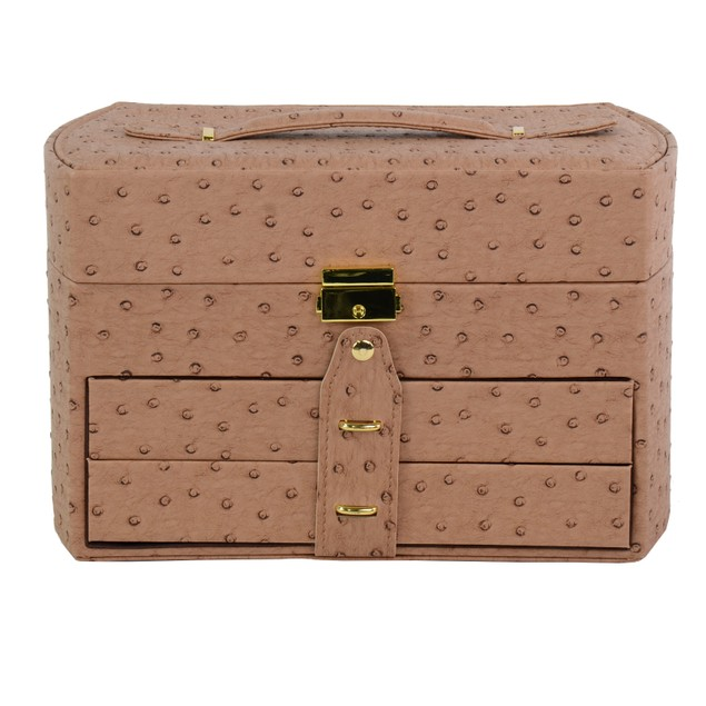 Archaize of Leather Jewelry Box / Travel and Storage Case