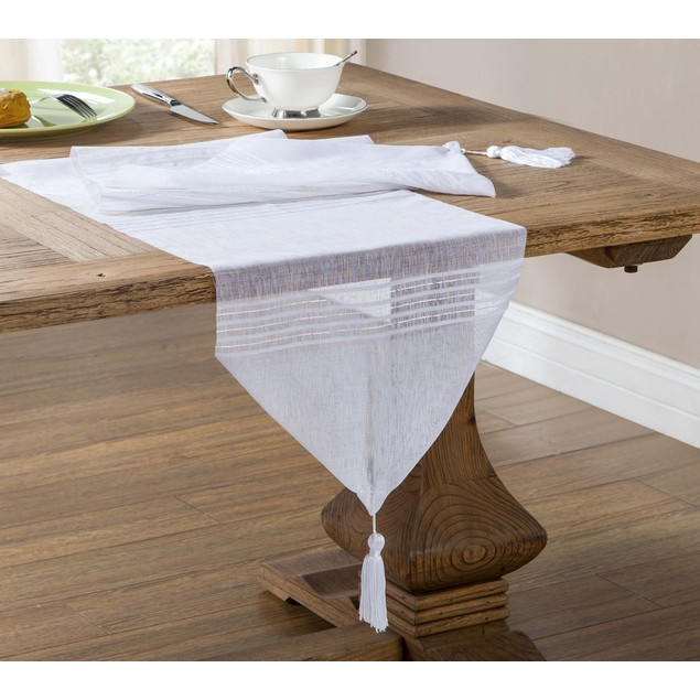 2-Pack: Northside Table Runner with Tassle