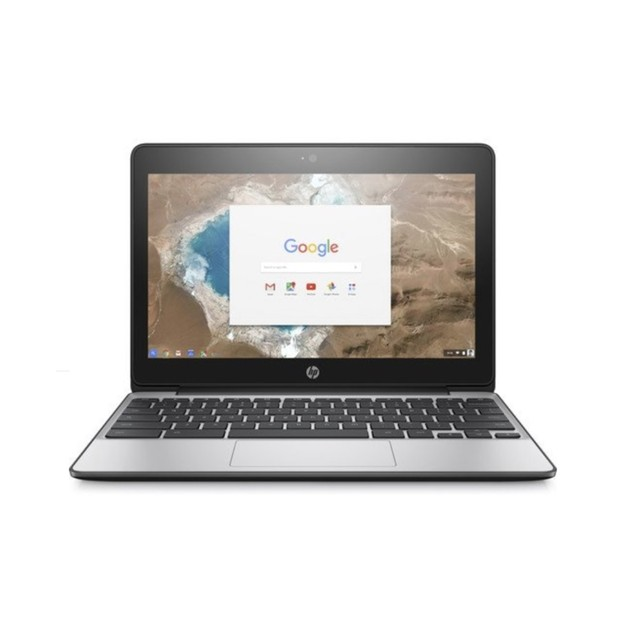 "HP Chromebook 11 G5 11.6"" 16GB N3060 ChromeOS,Gray (Refurbished)"