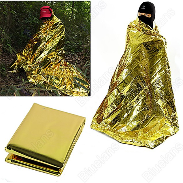 Waterproof First Aid Emergency Thermal Keep Warm Blanket