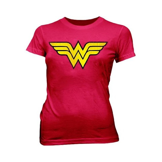 Wonder Woman Logo T-Shirt Superhero  Womens Mens Adult Costume Comic Book