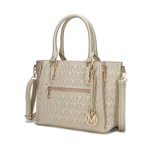 MKF Collection Cairo M Signature Satchel Bag by Mia K.
