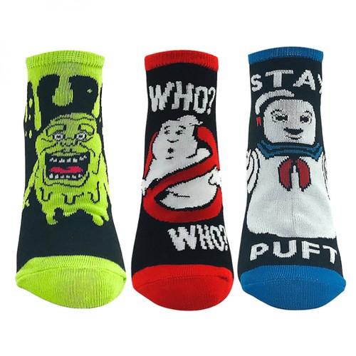 Ghostbusters 3-Pack Ankle Socks