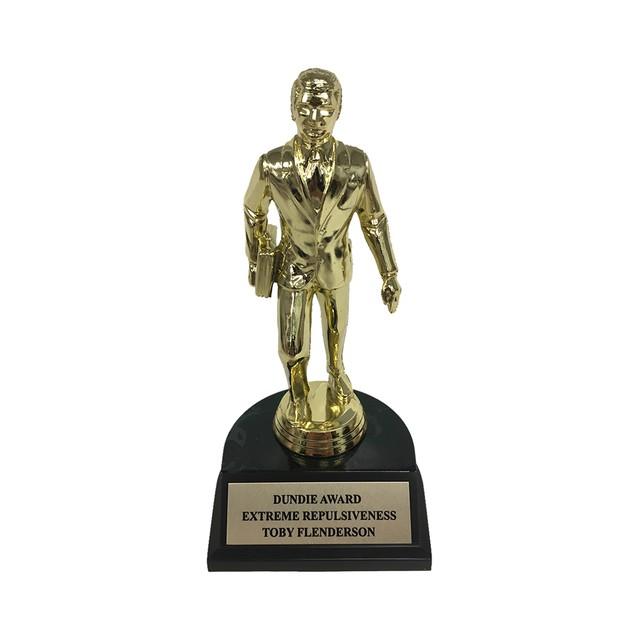 Toby Flenderson Extreme Repulsiveness Dundie Award Trophy