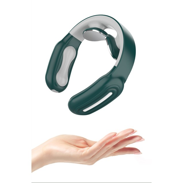 Portable Neck Massager with Heating and Remote Control