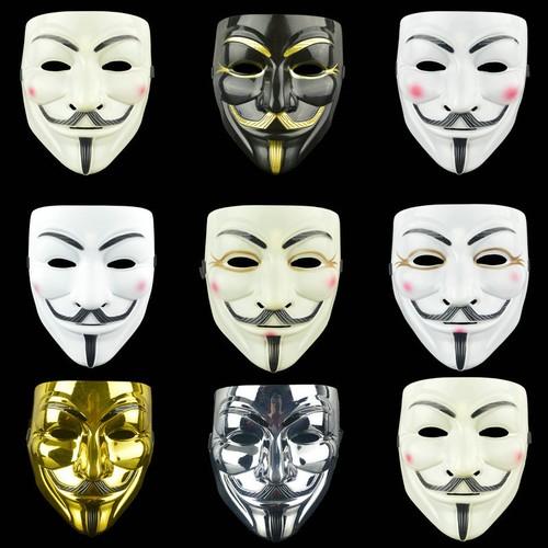 8-Pack Halloween Scary Face V-Vendor Mask
