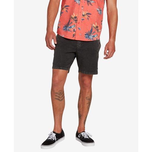 Volcom Men's Steppen Shorts Black Size Extra Large