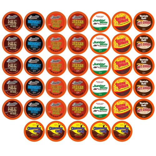 BEST Of The BEST Hot Chocolate K-Cups Variety Pack for Keurig 2.0, 40 count