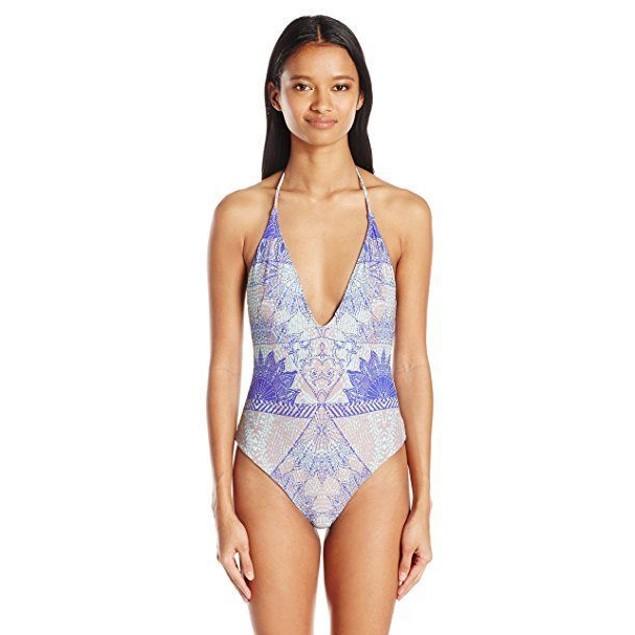 O'Neill Women's Batiki One Piece Swimsuit, Aqua Sky/Aqs, XL
