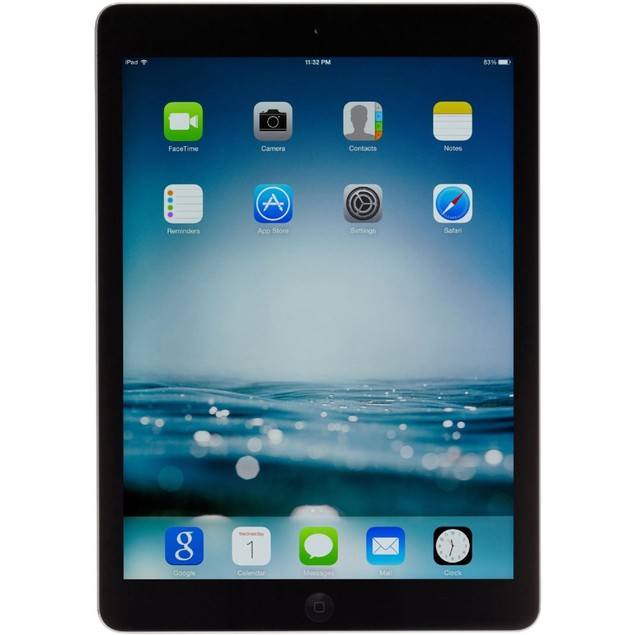 Apple iPad Air MD786LL/A Unlocked Cellular (32GB, WiFi, Black) - Grade B
