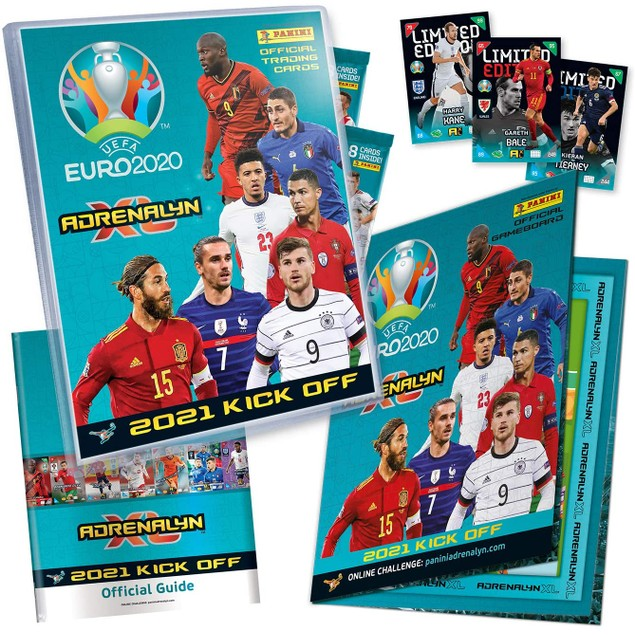 UEFA Euro 2021 Kick-Off Adrenalyn XL Starter Pack