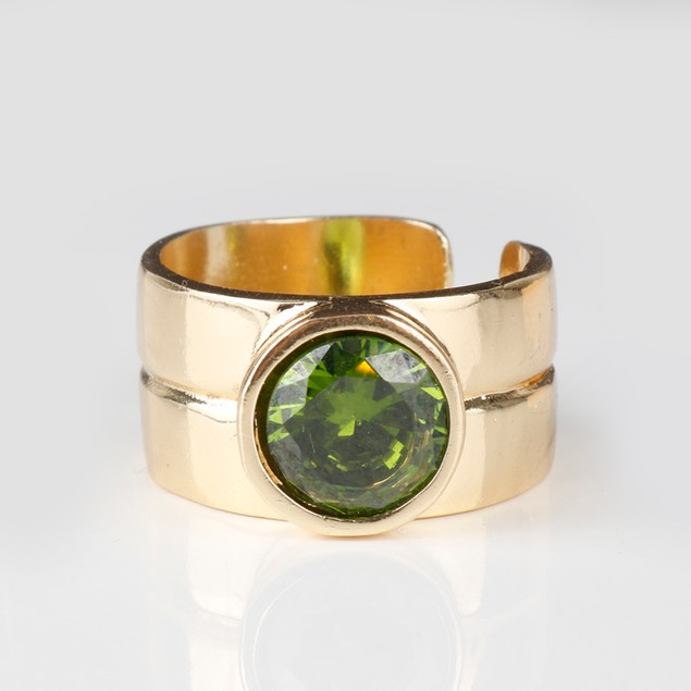 Peter Capaldi 12th Doctor Gold Ring