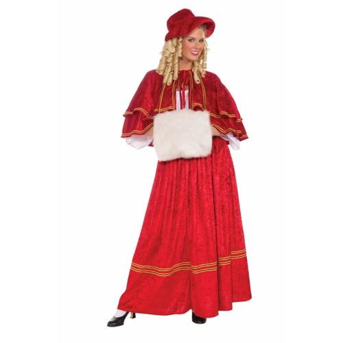 Christmas Caroler Women's Costume