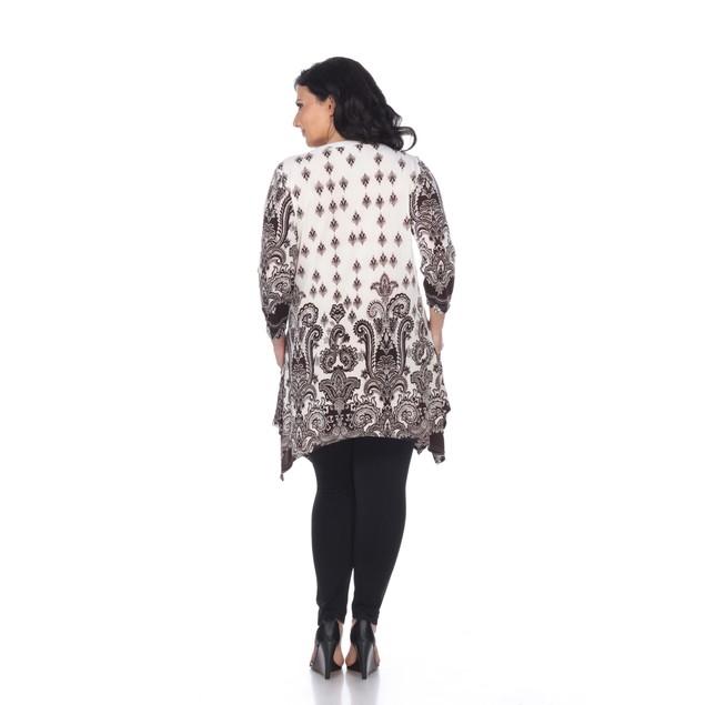 Plus Size Sapphira Tunic Top