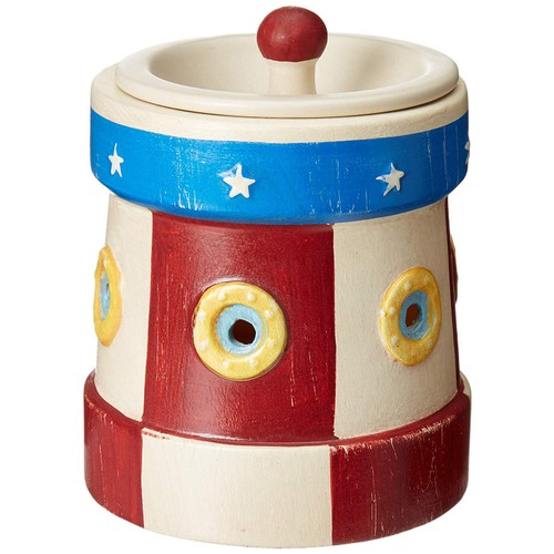 Scentsationals Home Scented Lighthouse Full Size Wax Warmer - Red, White