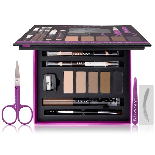 SHANY Brow Chicka Brow Eyebrow Set - 17-Piece Kit
