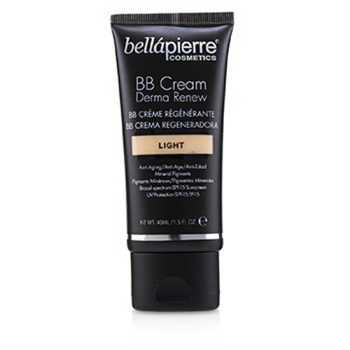Bellapierre Cosmetics Derma Renew BB Cream SPF 15 - # Light