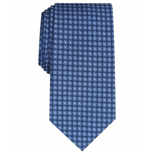 Club Room Men's Tulip Neat Tie Navy Size Regular