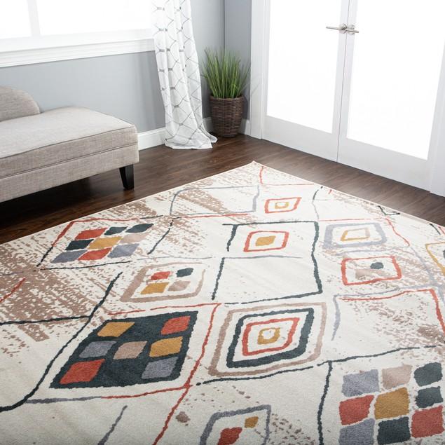 Burin Southwestern Geometric Indoor Area Rug