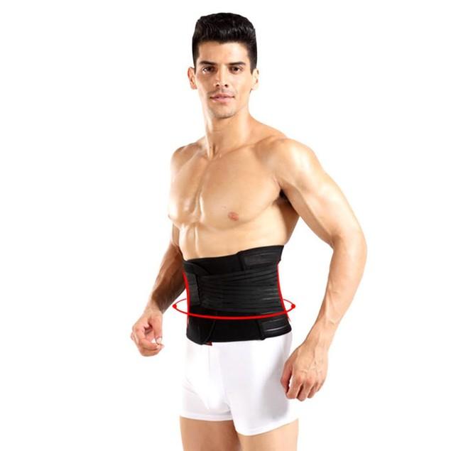 Men's Adjustable Double-Compression Waist-Slimming Belt