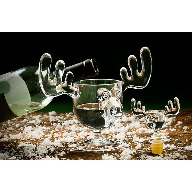 Christmas Vacation Moose Mug Wine Bottle Stopper