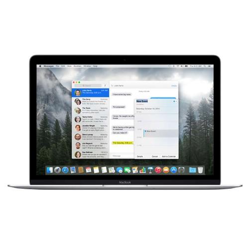 MacBook 12 Silver 1.3GHz Core M (2015) 8GB-512GB-MF855LLAB