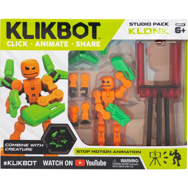 Klonk KlikBot Studio Pack Action Figure