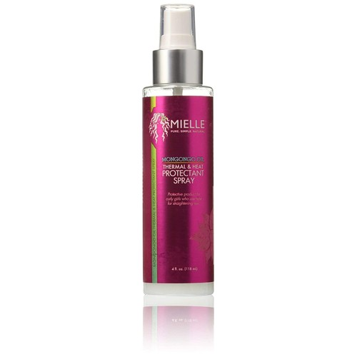 Mielle Organics Mongongo Oil Thermal & Heat Protectant Hair Spray, 4 oz.