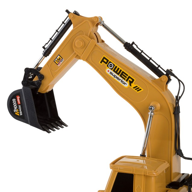 Remote Control Tractor Excavator Construction Toy with Movable Claw