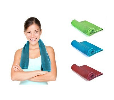 Instant Cooling Towel for Running Jogging Gym Chilly Pad Sports Yoga Was: $19.99 Now: $9.99.