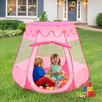 Princess Play Ball Tent - 100 Balls Included