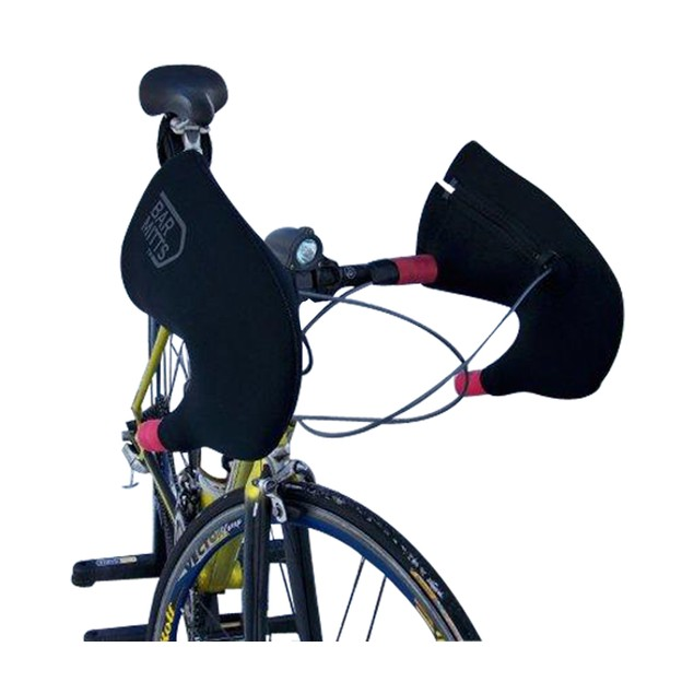 Bar Mitts Shimano For Externally Routed Cables, Black - Medium