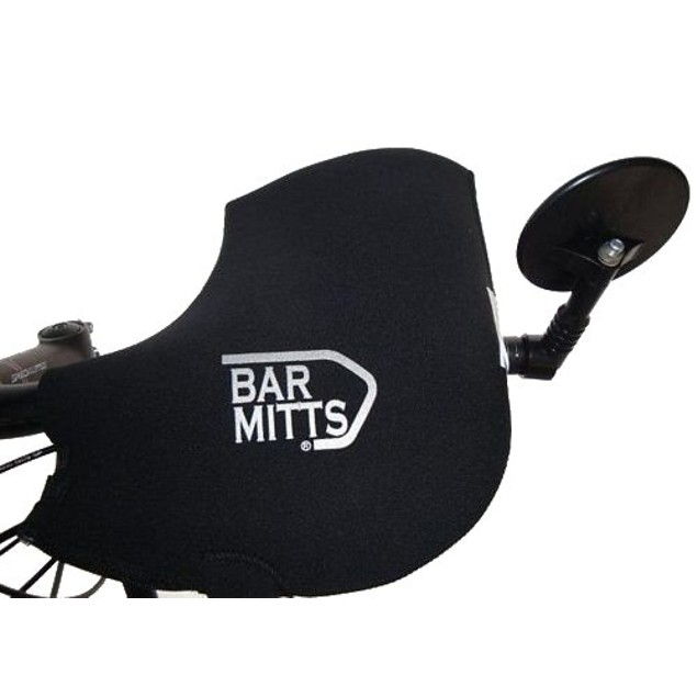 Bar Mitts Mountain/Flat/Commuter for Bar End Mirror - One Size Fits All