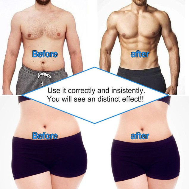 EMS Muscle Training Gear ABS Trainer Fit Body Home Exercise Shape Fitness